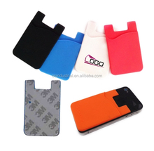 alibaba express silicone mobile phone wallet case for phone