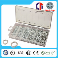 spring clip washer 1200pc hardware assorted spring clip washer