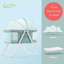 China Supplier High Quality Custom Made wicker baby crib
