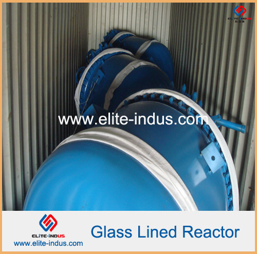 single double seal glass lined reactor storage tank (50L to 50000L with jacket)