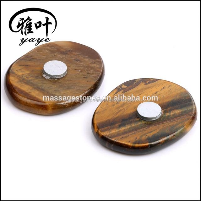 Natural Gemstone Creative Stone Fridge Magnet