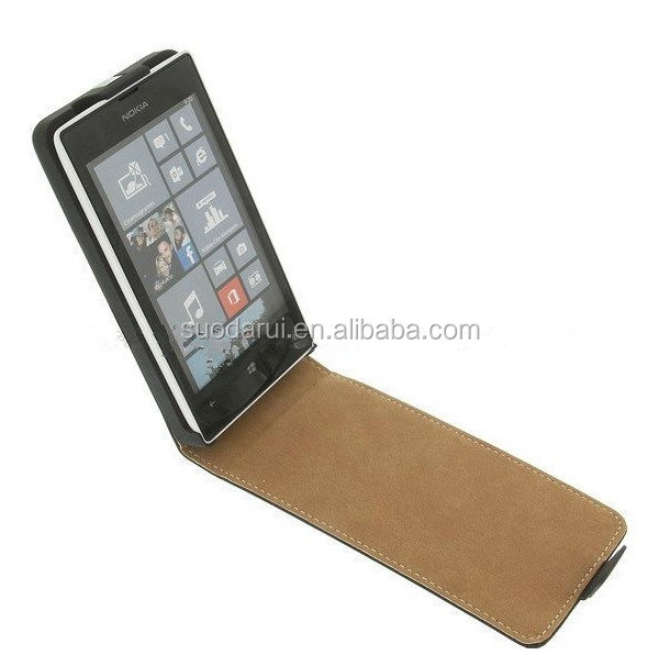 For Nokia Lumia 929 Ultra Slim Leather Flip Cover magnetic Case