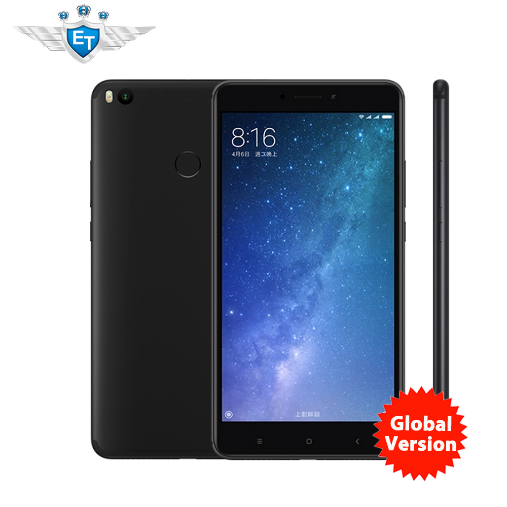 "Global Version Xiaomi Mi <strong>Max</strong> 2 <strong>Max</strong> S Mobile Phone 4GB RAM 64GB ROM 5300mAh 6.44"" Snapdragon 625 Octa Core QC 3.0 Andriod 7.1"