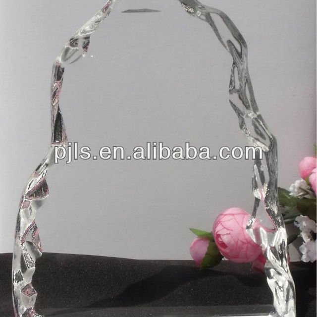new design crystal plaques wholesales customized crystal award trophy