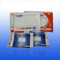 EMS photo printing pillow pp poly bag with adhesive peel and seal