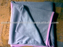 100%organic cotton high end quality baby blanket
