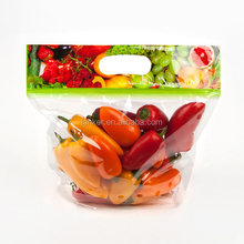 Stand Up Pouch Zipper Custom Plastic With Fresh Food Grade Fruit Packaging Bag