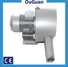 440mbar double stage regenerative air blower for cement conveying