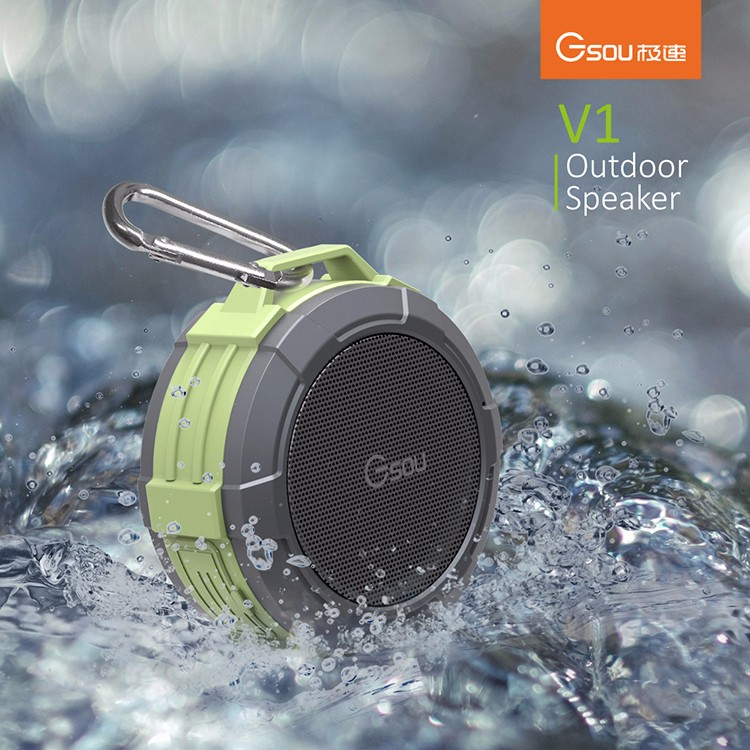 2017 Outdoor smallest bluetooth wirless speaker