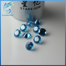 Wholesale Top Quality Round Machine Star Cut Cubic Zirconia Loose Gemstone