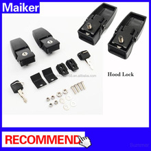Maiker Car Engine hood lock for Jeep Wrangler JK 4*4 Parts Steel Hood Lock
