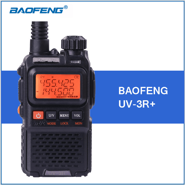 Baofeng UV-3R+ UV-3R plus walkie talkie