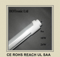 HONG KONG CE UL TUV ROHS SMD2835 110V fluorescent tubes T10