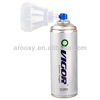 Anti-Altitude Stress Portable Bottled Oxygen with Mask AR-001/7.7L