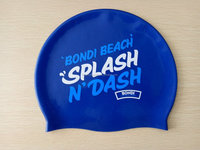 funny innovative good quality silicone swimming cap customized possible