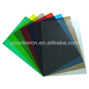 PVC color transparency sheet/pvc book cover roll