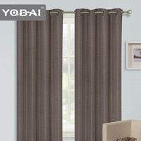 Bedroom Decorative Custom Made Luxury Brand Name Home Sense Jacquard Curtains