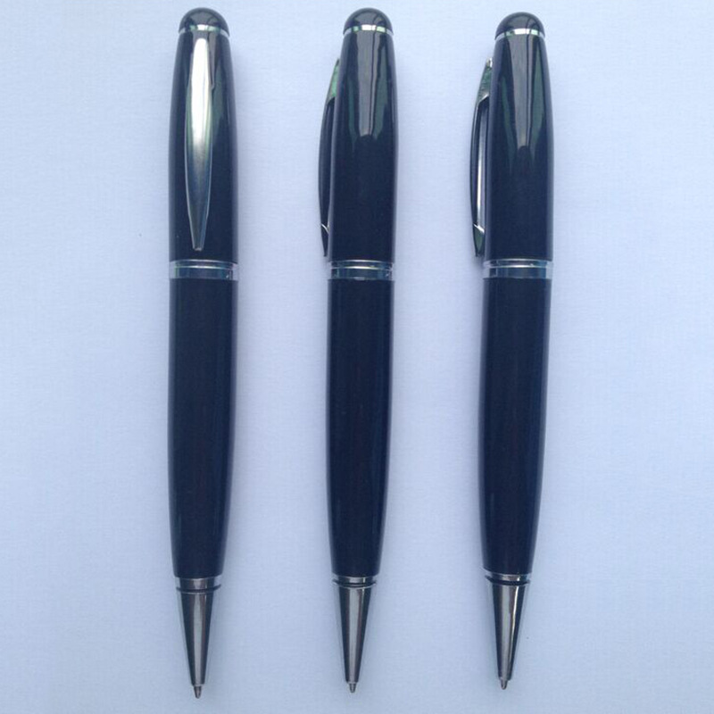 New metal U disk ballpoint pens advertising promotional gifts