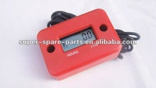 red electric motorcycle speedometer