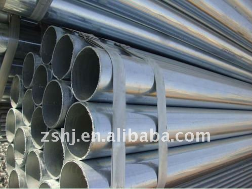 galvanized circular hollow section pipe