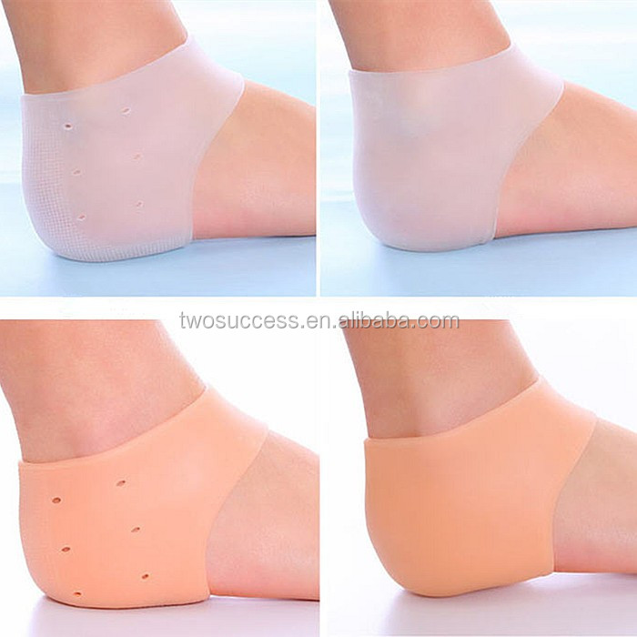 2016 Health Care Medical Silicone Gel Heel Protector Foot Care