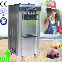 Portable stanless steel 25L commercial soft serve ice cream machine for sale price