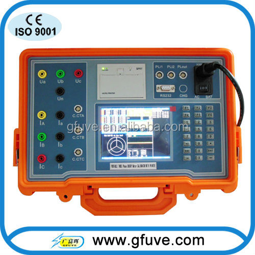 On-site power meter calibration instrument GF312B Three Phase Energy Meter Field Calibrator
