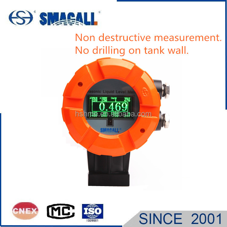 HS-2000 Ultrasonic Diesel Gasoline tank level meter transmitter monitor