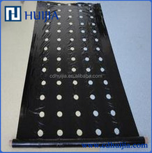 Perforated silver&black mulch film for agriculture ground cover