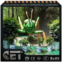 insects theme park animatronic animal and insects realistic insects
