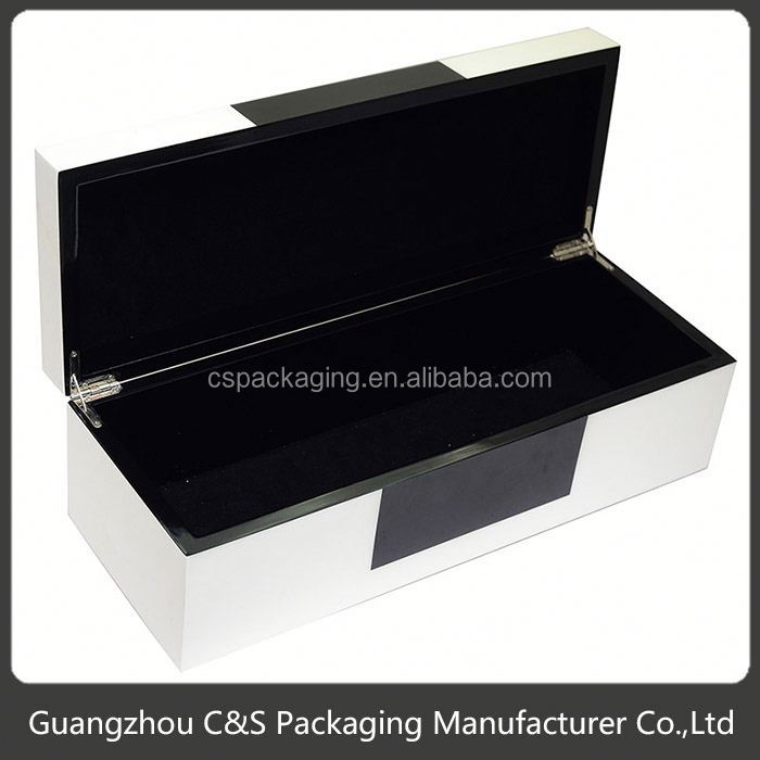 Sales Promotion Luxury Low Price Natural Unfinished Wood Craft Hinged Box