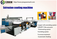Non woven coating machine pe pp extrusion coating laminator machine/ coating machine