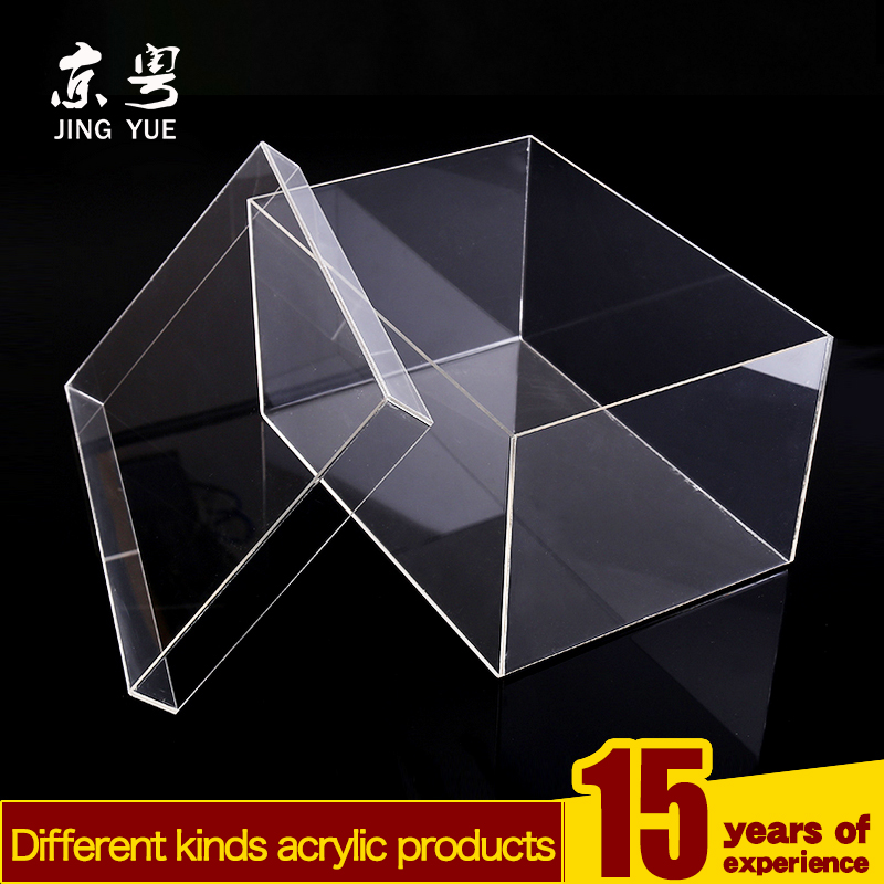 generous transparent acrylic shoes gift box packaging