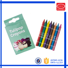 8 colors nontoxic crayon for art painting