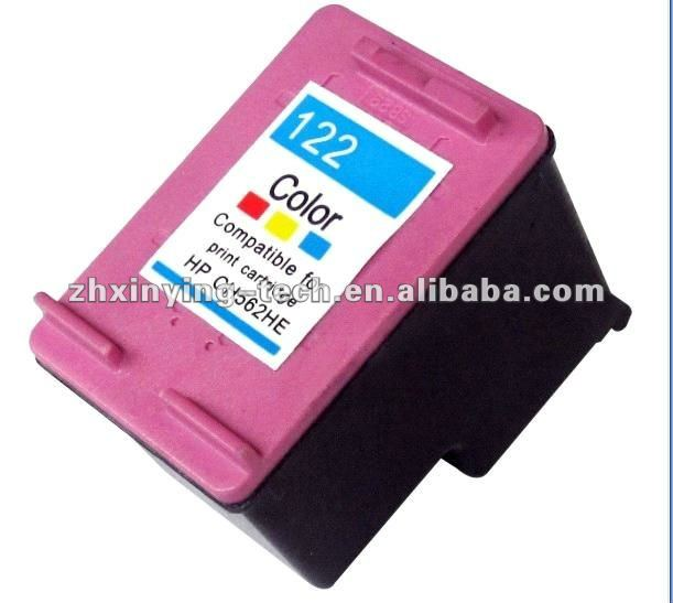 Hot selling compatible printer ink cartridge for HP 122