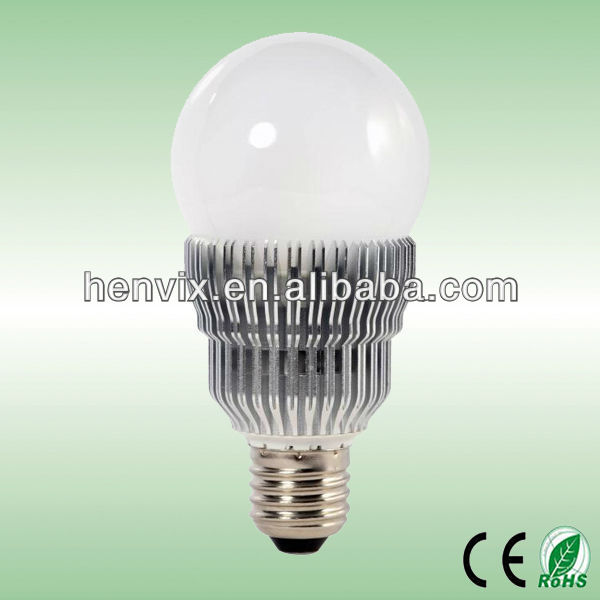 2012 Top Rated E27 5W LED light bulb