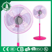 "2016 top quality target price 3 blades 18""stand fan with round base for purchaser"