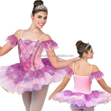 NP026 girls ballet tutu dress costumes wholesale peacock dance costumes