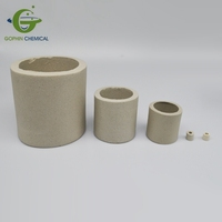 6mm 25mm 38mm 50mm 100mm Ceramic Raschig Ring Random Packing