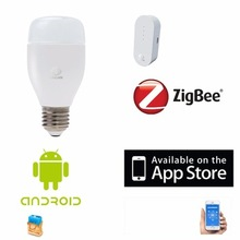 Smart home overall solution supplier Zigbee APP control remote control bulb color LED lights