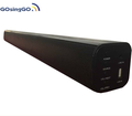 2.0 wall mountable tv soundbar speaker with usb optical function for home theater