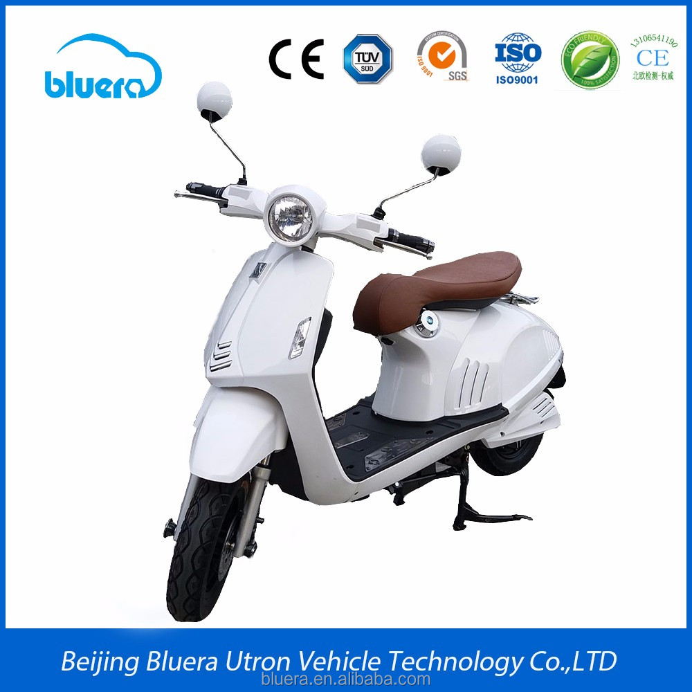 Bluera Deluxe series Athena X4-2 vespa cheap electric scooter with 2000w motor 72v20ah battery for sale