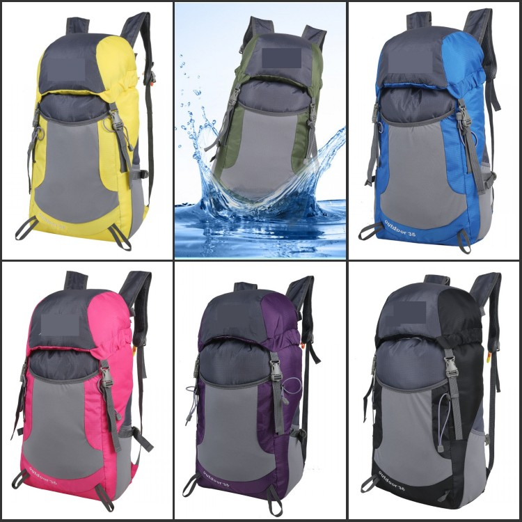 New Sport Polyester Foldable Backpack bagpack from Manufacturers China supplier