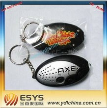 mini talking keychain/pocket sound keychain/electronic key chain with cutom sound