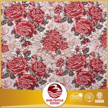 Hot selling jacquard sofa fabric made by 100 percent polyester fabric