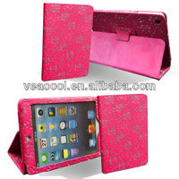"Luxury Bling Diamond Crystal Star PU Leather Case For iPad Mini 7""tablet"