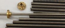 "MMS 5"" tr8*8 acme leadscrew 10mm acme trapezoidal lead screw"