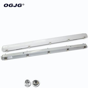 High Quality Railway bridge 0-10V dimming Batten waterproof Fixtures Ip65 station Project moisture proof Led tube Light