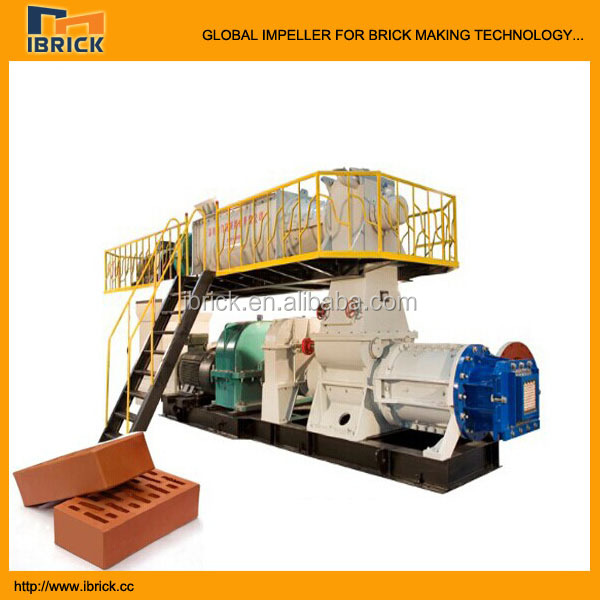 Small weight good quality energy saving extruder single phase brick making machine
