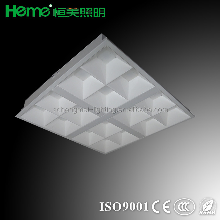 Euro popular LED New product 2x2 recessed louver luminaire lighting fitting